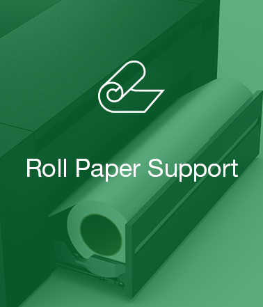 roll paper support