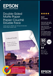 A4  Double-Sided Matte Paper - 50 Sheets (178gsm)