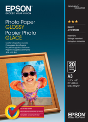 A3 Photo Paper Glossy - 20 Sheets (200gsm)