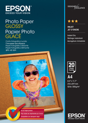 A4 Photo Paper Glossy - 20 Sheets (200gsm)