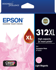 312XL - High Capacity Claria Photo HD - Light Magenta Ink Cartridge