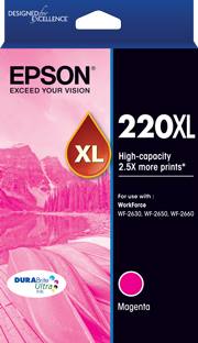 220XL - High Capacity DURABrite Ultra - Magenta Ink Cartridge