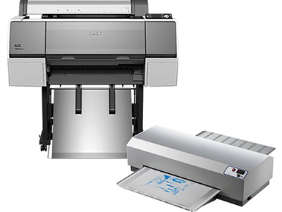 Epson printing direct to plate