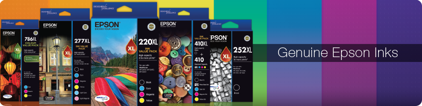 Genuine Epson Inks Banner